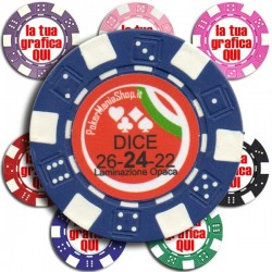 Fiches / Chips DICE 11,5 gr...