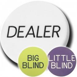 Dealer Button Set da 3...