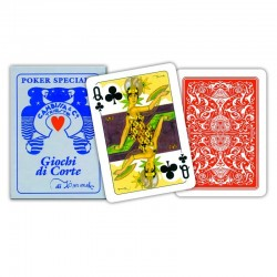 Carte POKER TIMMEL Rosso...