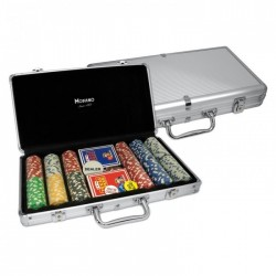 VALIGETTA 300 Chips Poker Alluminio (vuota)