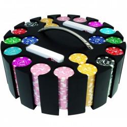 GETTONIERA in Legno 500 Chips Poker (vuota)