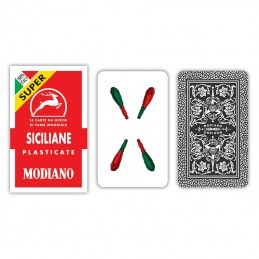 Carte Siciliane Rosso SUPER...