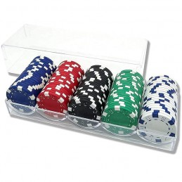 Set 100 Fiches + Chips Rack...